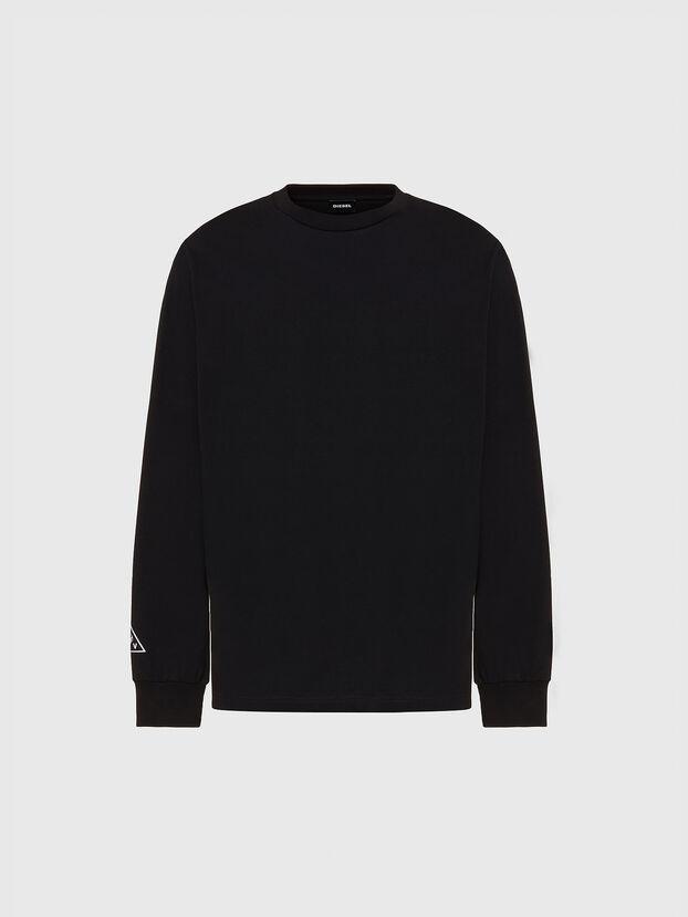 T-JUST-LS-X90, Black - T-Shirts