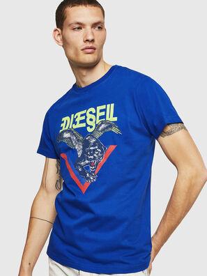 T-DIEGO-A4, Brilliant Blue - T-Shirts