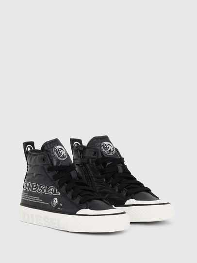 Diesel - SN MID 07 MC LOGO YO, Black - Footwear - Image 2