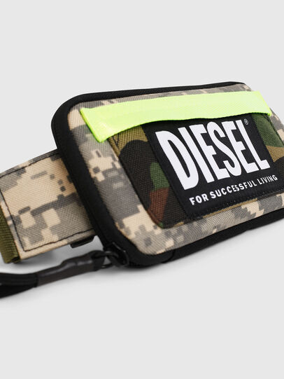 Diesel - BELT RUBBER CASE BIG, Green Camouflage - Continental Wallets - Image 5