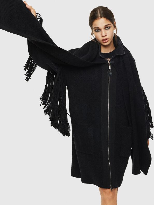 M-BOU-B, Black - Winter Jackets