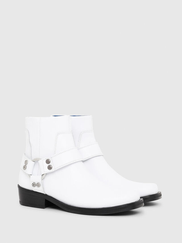 Diesel - D-BIOYS MC, White - Boots - Image 2