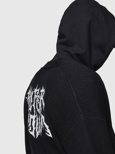 Diesel - K-EXIT, Black - Knitwear - Image 5