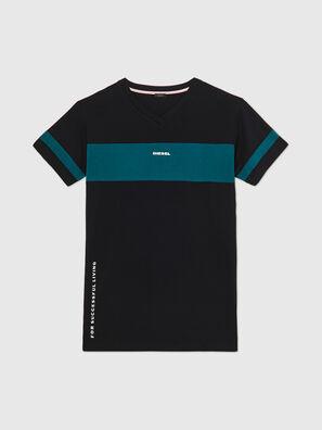 UFTEE-CHEERLY, Black/Blue - T-Shirts