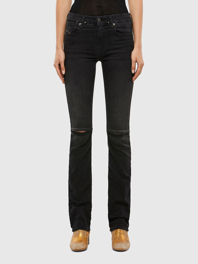Diesel - Slandy-B 069QN, Black/Dark grey - Jeans - Image 1