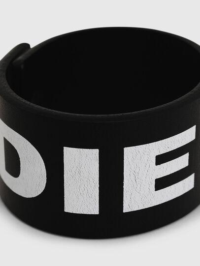 Diesel - A-LETTER, Black/White - Bijoux and Gadgets - Image 2