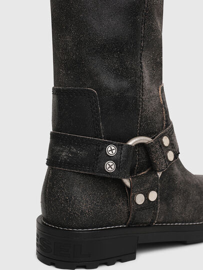 Diesel - D-THROUPER MB W, Black - Boots - Image 4