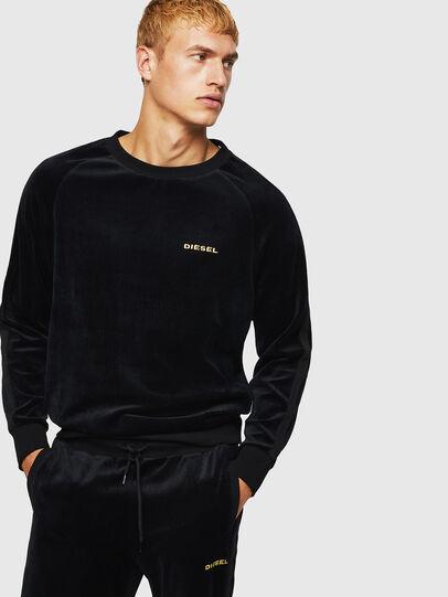 Diesel - UMLT-MAX, Black - Sweaters - Image 1