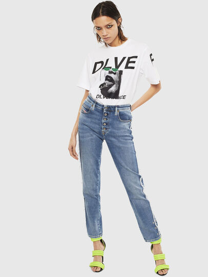 Diesel - T-JUST-T21, White - T-Shirts - Image 8