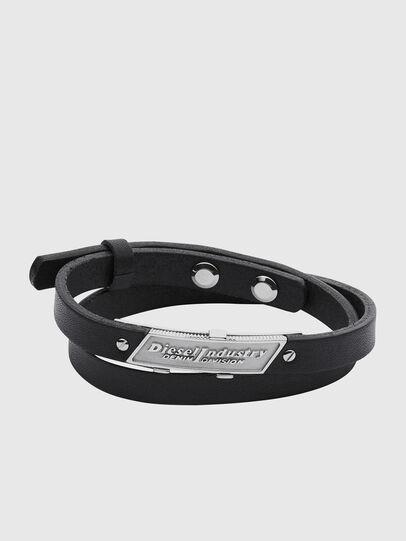 Diesel - BRACELET DX1034, Black - Bracelets - Image 1