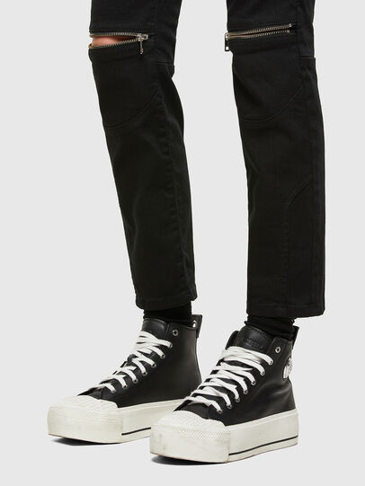 Diesel - D-Joy 0688H, Black/Dark grey - Jeans - Image 5