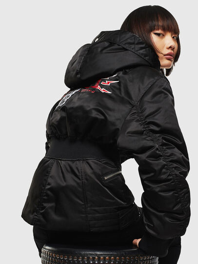 Diesel - CL-W-ISOKE-A-LITM, Black - Winter Jackets - Image 6