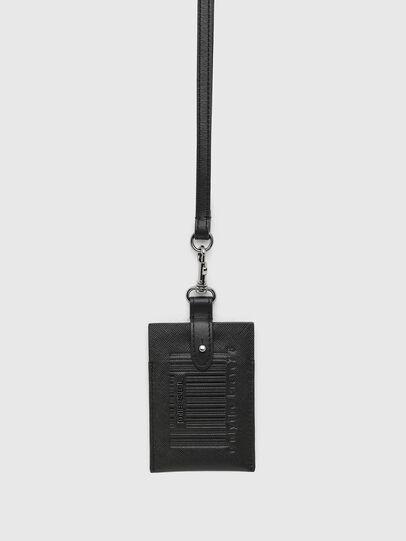 Diesel - BADGE, Black - Card cases - Image 1