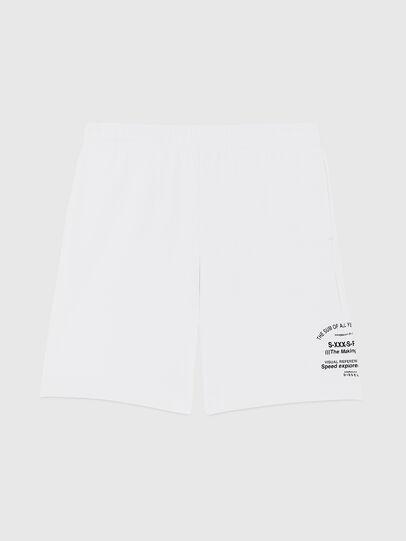 Diesel - P-BOXIER-X2, White - Shorts - Image 1