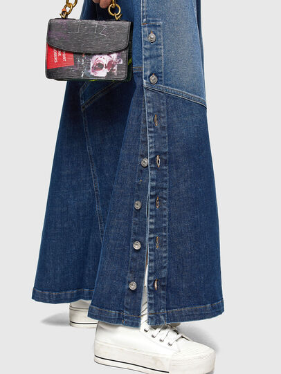 Diesel - DE-PEN, Medium blue - Skirts - Image 4