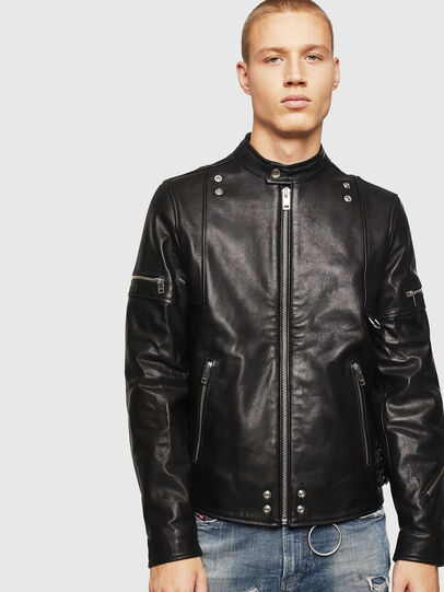 Diesel - L-TOVMAS,  - Leather jackets - Image 1