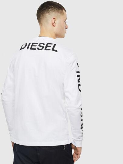Diesel - T-JUST-LS-T14, White - T-Shirts - Image 2