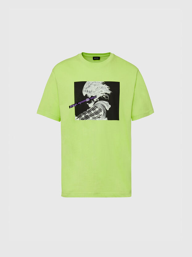 T-TUBOLAR-X20, Green Fluo - T-Shirts