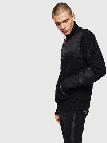 Diesel - K-MANY, Black - Knitwear - Image 4