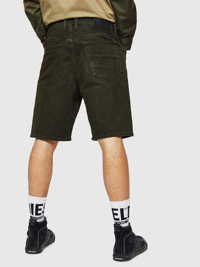 Diesel - D-WILLOH, Dark Green - Shorts - Image 2