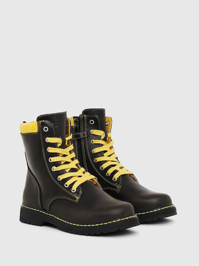Diesel - HB LACE UP 04 YO, Black - Footwear - Image 2