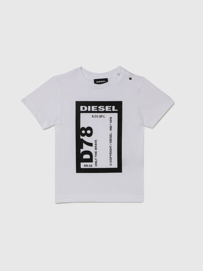 Diesel - TFULL78B, White - T-shirts and Tops - Image 1