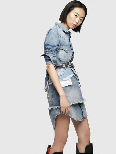 Diesel - DE-DESY-P, Blue Jeans - Dresses - Image 3