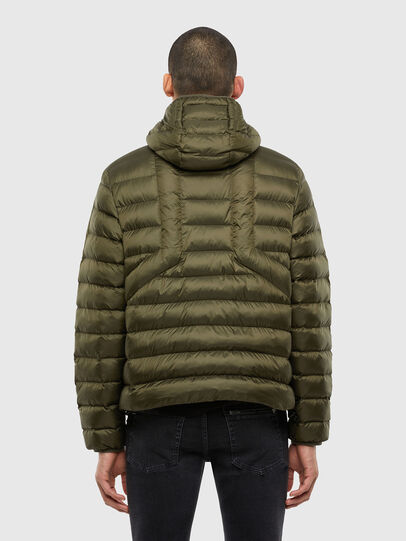 Diesel - W-DWAIN, Military Green - Winter Jackets - Image 2