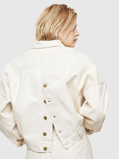 Diesel - DE-JALA, White - Denim Jackets - Image 3