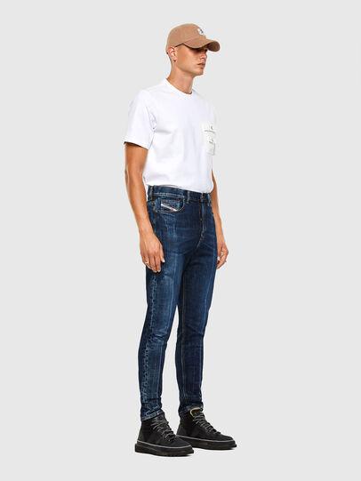 Diesel - D-Vider 0092X, Medium blue - Jeans - Image 8