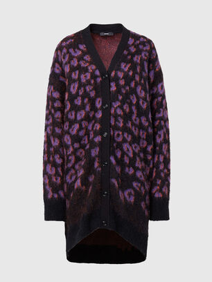M-REBECCA, Violet/Black - Knitwear