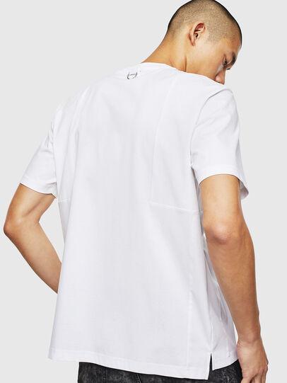 Diesel - T-TOMI, White - T-Shirts - Image 2