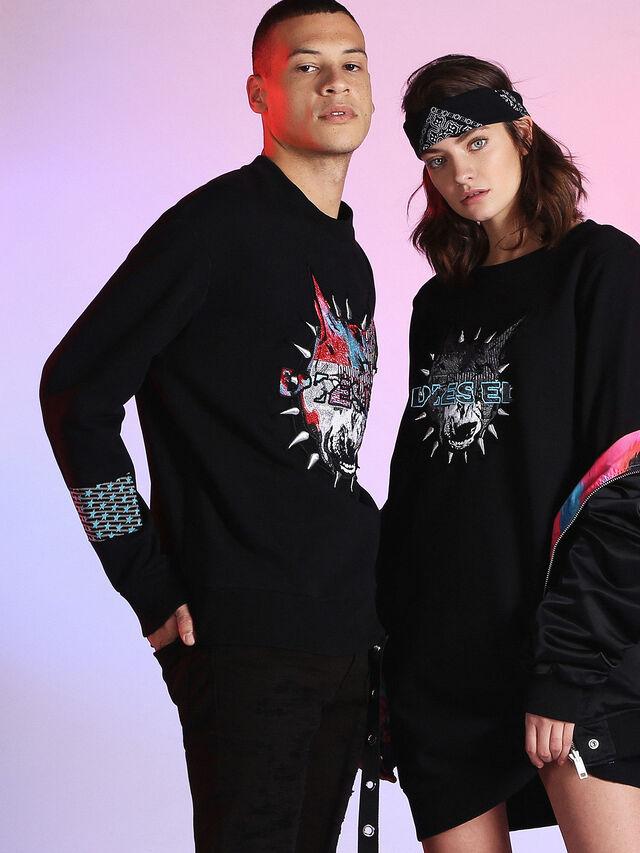Diesel - LU-S-BAY, Black - Sweaters - Image 5