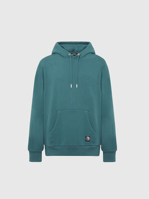 S-GIRK-HOOD-MOHI, Water Green - Sweaters
