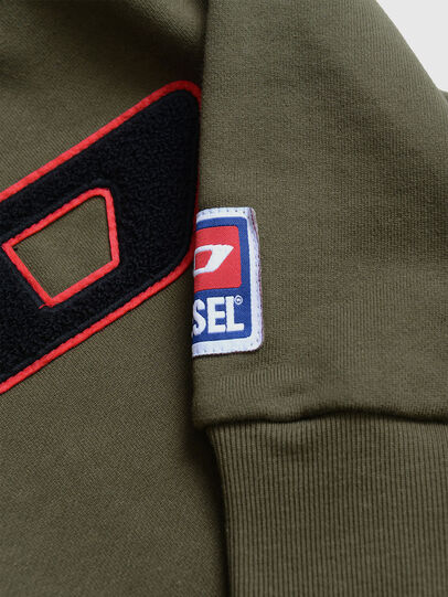 Diesel - SCREWDIVISIONB-D, Military Green - Sweaters - Image 3