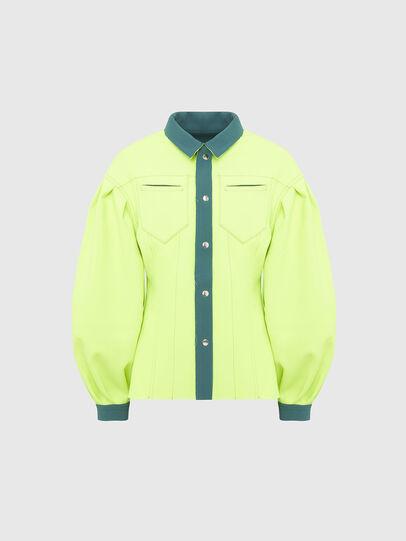 Diesel - G-ALBA, Water Green - Jackets - Image 6