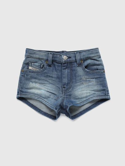 Diesel - PGINGHER JOGGJEANS, Medium blue - Shorts - Image 1