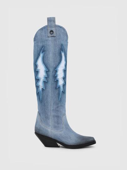 Diesel - D-GIUDECCA MHB, Blue Jeans - Boots - Image 1