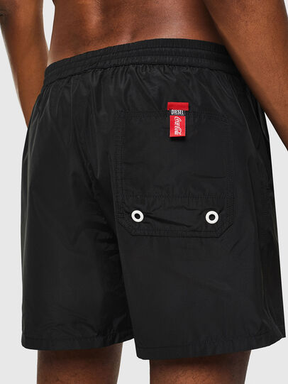 Diesel - CC-WAVE-COLA, Black - Swim shorts - Image 4