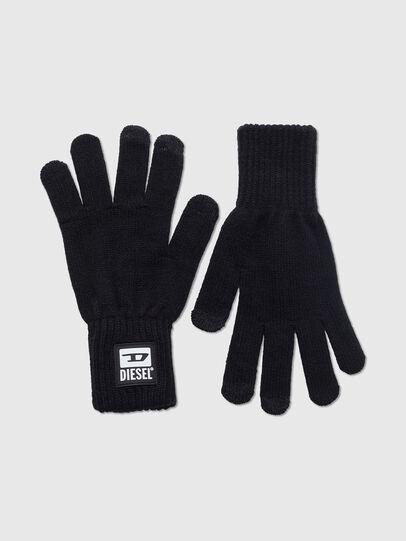 Diesel - K-JACK, Black - Gloves - Image 1