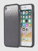 MOHICAN HEAD DOTS BLACK IPHONE 8 PLUS/7 PLUS/6s PLUS/6 PLUS CASE, Black - Cases