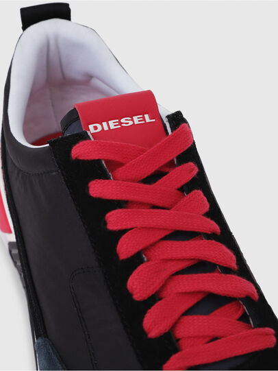 Diesel - S-KB LOW LACE, Black/Red - Sneakers - Image 5