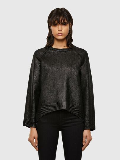 Diesel - M-NADYA, Black - Knitwear - Image 1
