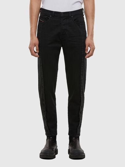 Diesel - D-Vider 009LA, Black/Dark grey - Jeans - Image 1