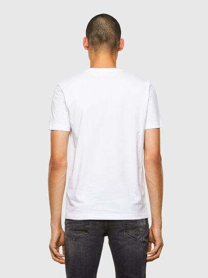 Diesel - T-DIEGOS-K35, White - T-Shirts - Image 2