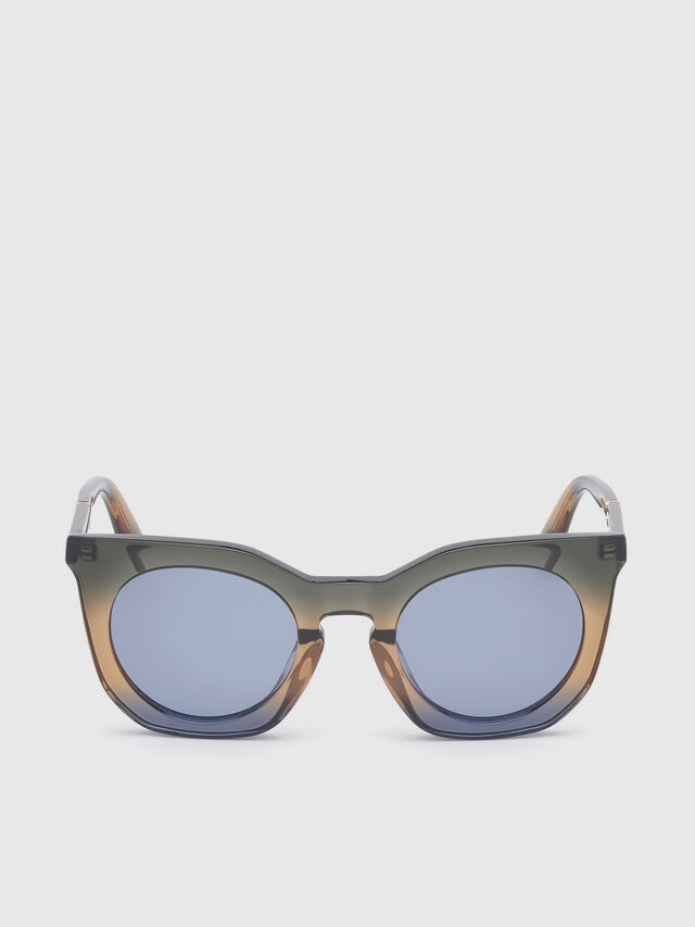 Diesel - DL0283, Blue/Yellow - Sunglasses - Image 1
