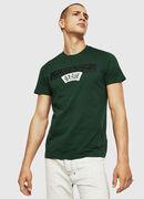 T-DIEGO-A1, Dark Green - T-Shirts