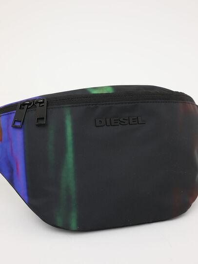 Diesel - F-SUSE BELT DM, Black/Blue - Belt bags - Image 7