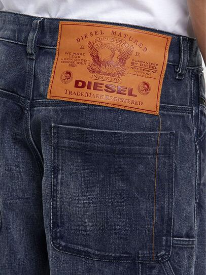 Diesel - D-Franky 009IY, Dark Blue - Jeans - Image 5
