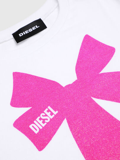 Diesel - TASHAB-R, White - T-shirts and Tops - Image 3